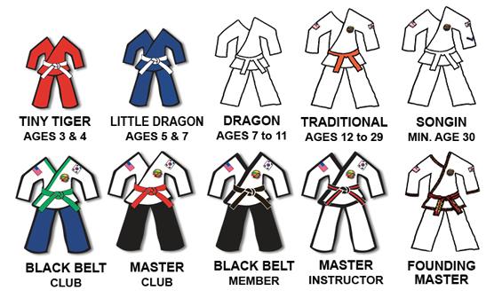 taekwondo belt tying instructions